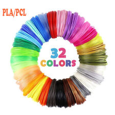 3D Printer Pen Supplies Filament Consumables Refills PLA PCL 1.75mm 10 Colors