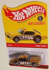 MOMC 2014 RLC Neo-Classics Series 13 #4 gold chrome Olds 442 Maxi Taxi