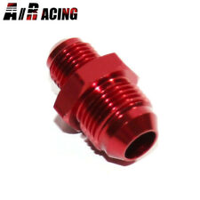 New Brand -6AN Male to -8AN Male Flare Hose End Fitting Adapter 0 Degree Red