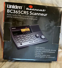 Uniden Bearcat Scanner Radio BC365CRS Programmable Police Fire Weather *NEW
