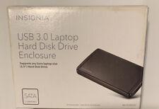 INSIGNIA USB 3.0 DESKTOP HARD DISK DRIVE ENCLOSURE NS-PCHD235 - SATA Compatible