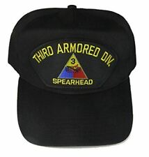 US ARMY 3RD THIRD ARMORED DIVISION AD SPEARHEAD CAP HAT VETERAN SOLDIER