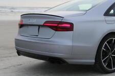Fibre De Carbone Audi A4 S4 B9 Saloon Boot spoiler lip Sport TRIM S LINE Vendeur Britannique