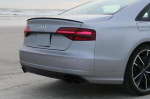 Carbon Fiber Audi A6 S6 C7 4G2, 4GC Saloon Boot Spoiler Lip Sport Trim S Line UK