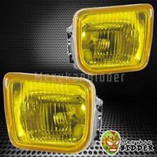 For Honda Civic 2&4 DR 1996-1998 Yellow Len Bumper Driving Fog Lights w/Lamp