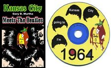 Beatles Book KANSAS CITY MEETS THE BEATLES The 1964 Concert KC Chiefs Royals +CD