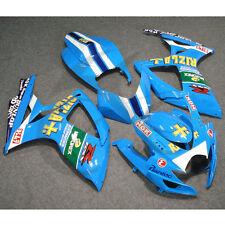 Rizla Injection Painted Fairing Bodywork For Suzuki GSX-R 600 GSXR750 2006-2007