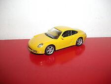 Porsche 997 Carrera S jaune 3 inch Norev TBE