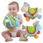 Newborn Baby Happy Study Donkey Toys Cloth Book Intelligence Early Education