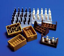 Bouteilles de lait et soda 1/35 PlusModel