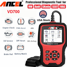 ABS SRS AIRBAG DPF EPB Oil Engine Code Reader OBD2 Car Diagnostic Tools Scanner