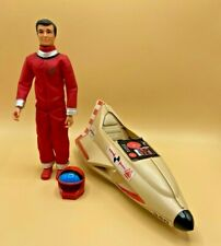 Vintage 1978 Ideal Star Team Kent & his Cosmic Cruiser spaceship & Action Figure