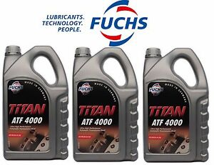 For BMW 15 Liters Auto Trans Fluid for Yellow Tag Transmis. Fuchs Titan ATF 4000
