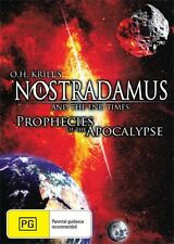 O.H. KRILLS NOSTRADAMUS AND THE END OF TIMES  - NEW & SEALED DVD