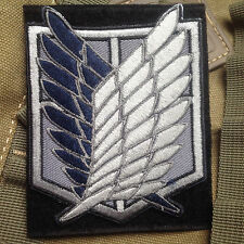 Attack on Titan The Survey Corps Wings of Freedom TACTICAL EMBROIDERED PATCH