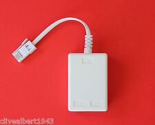 """ADSL Filter in White """"TOP QUALITY"""" BT Approved BRAND NEW!"""