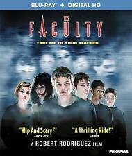 New! The Faculty Blu-Ray + Digital HD - 90s High School Horror Rodriguez Wood
