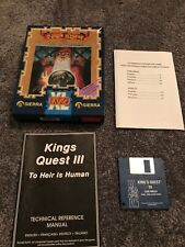 KINGS QUEST III TO HEIR IS HUMAN FOR AMIGA RETRO