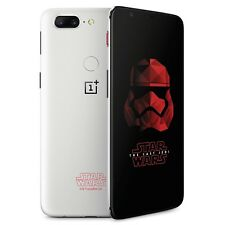 New Oneplus 5T A5010 128GB Dual-SIM Star Wars Edt. White Factory Unlocked 4G GSM