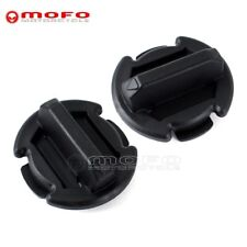 2x Floor Drain Plug Body For Polaris RZR XP 1000  RZR XP-4 Turbo 2016 2017 Black