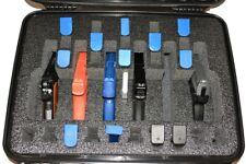 6 pistol + 25 mags Quick Draw handgun foam insert fits your Pelican 1550 case