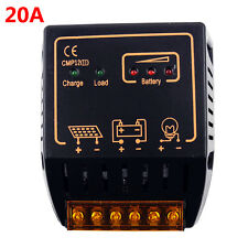 20A Solar Charge Controller 12V/24V Auto Switch Panel Battery Charger Regulator