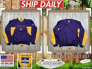 Reebok Minnesota Vikings Pullover Sweatshirt On Field NFL Purple Medium M Men❄️