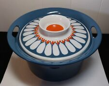 Vintage Turi Design Figgjo Flint Daisy 1.5 liter casserole dish with lid Norway