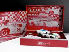 "Fly Z2 - Lola T70 ""Chequered Flag"" Ltd. Edition NEW 1/32 SLOT CAR -2 CARS"