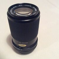 EXAKTA 70-210mm CANON FD FIT ZOOM LENS - WITH FAULT