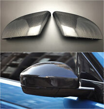 Rear View Rearview Mirror Carbon Fiber Replace For Jaguar F-Pace X761 2016 2017