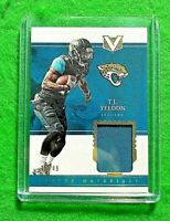 T.J. YELDON PATCH CARD SP#/49 JACKSONVILLE JAGUARS 2017 PANINI VERTEX FOOTBALL