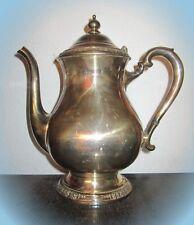 °erlesene teekanne silver company england um 1910 gestempelt