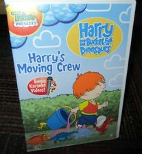 HARRY AND HIS BUCKET FULL OF DINOSAURS: HARRY'S MOVING CREW DVD, 5 EPISODES, GUC