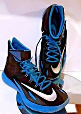NIKE Men's Black Flywire Zoom HyperRev Basketball Shoes Athletic Sneakers High 9