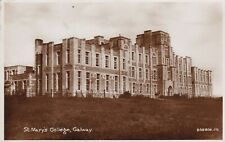Postcard - View of St.Mary's College, Galway, Ireland.  Posted in 1936.