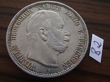Preußen 5 Mark 1876 A Erhaltung ss Wilhelm I. 1861 - 1888 Kaiserreich Silber J97