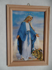 Gnadenspenderin Immaculata Bild m. Rahmen hell Sonderpreis 2.Wahl Legio Mariae