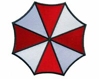 Iron on  Resident Evil Umbrella Corporation Logo Patch 3.5'
