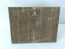 Wood Frame Plank Distressed Clipboard Famhouse Country Decor Picture Frame Sign