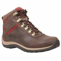 Timberland Women's Norwood Mid Waterproof Hiking Boots Dark Brown TB09505A242