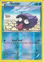 POKEMON CARD XY BREAK-POINT - SHELLDER 22/122 REV-ERSE HOLO