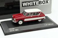 CITROEN AMI 6 1961 - 1/43 WHITEBOX NEUF