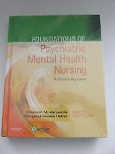 Foundations Psychiatric Mental Health Nursing Clinical 6th Hardcover New Sealed