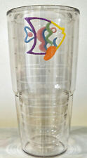 24 OZ Tervis Tumbler  Tropical Fish  Double Insulated Wall