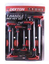 T Bar Driver Dual Hex 8  Piece Metric Allen Long Key T-handle 2.5 - 10.0mm
