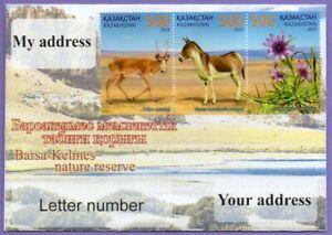 Kazakhstan 2019. A letter to Your address. Barsa-Kelmes Nature Reserve.