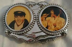 Elvis Presley Very Rare Western Vintage engraved leather Belt & Chrome buckle