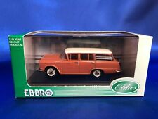 EBBRO 1/43 Nissan Cedric Van Red Limited 345 With tracking number From Japan