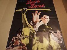 bruce lee LA FUREUR DE VAINCRE   !  affiche cinema karate kung-fu